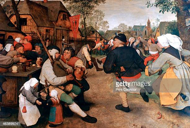 'The Peasant Dance' 15681569 The opening of a kermesse with a traditional dance performed by two couples From the collection of the Kunsthistorisches...