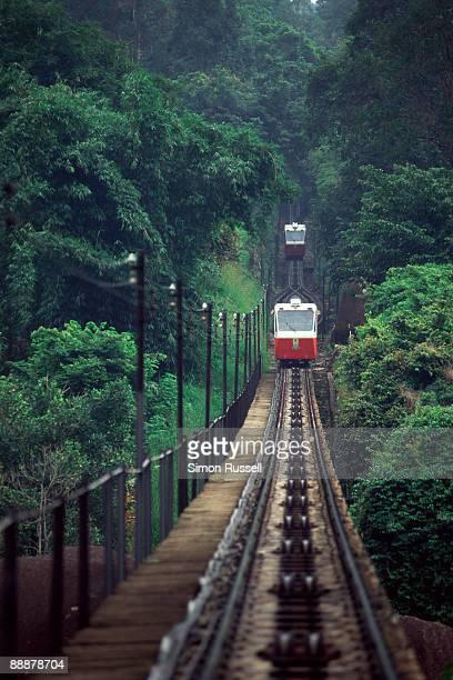 The Penang Hill Funicular Railway, Malaysia