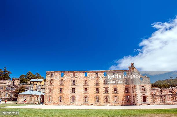 The Penitentiary at the Port Arthur Historical Site a former British penal station and now an openair museum