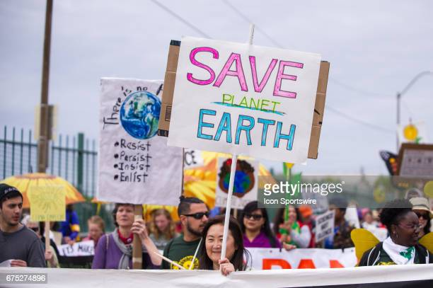 The People's Climate Change March in Portland Oregon as a part of an international day of action on climate change in many cities of the world on...