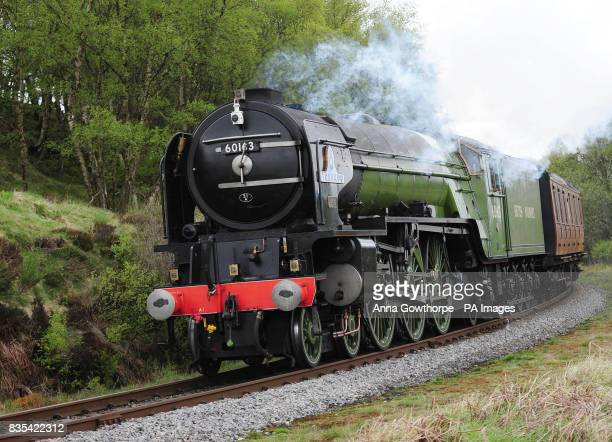 PHOTO The Peppercorn class A1 Pacific 60163 Tornado the first new mainline steam locomotive built in Britain for almost 50 years travels along the...