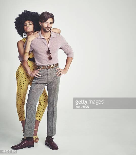 Den perfekten retro Paar