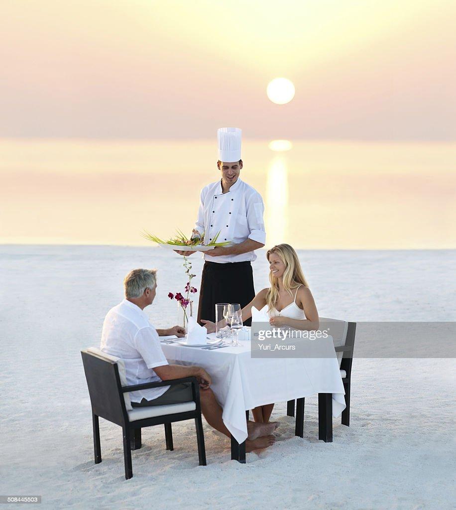 The perfect romantic dinner
