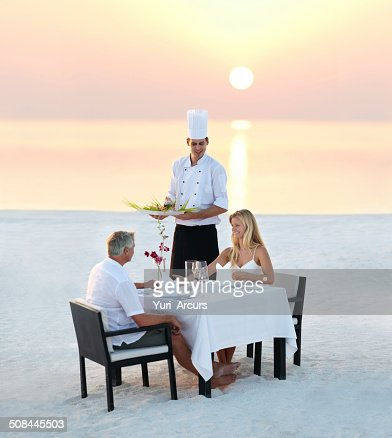 The perfect romantic dinner
