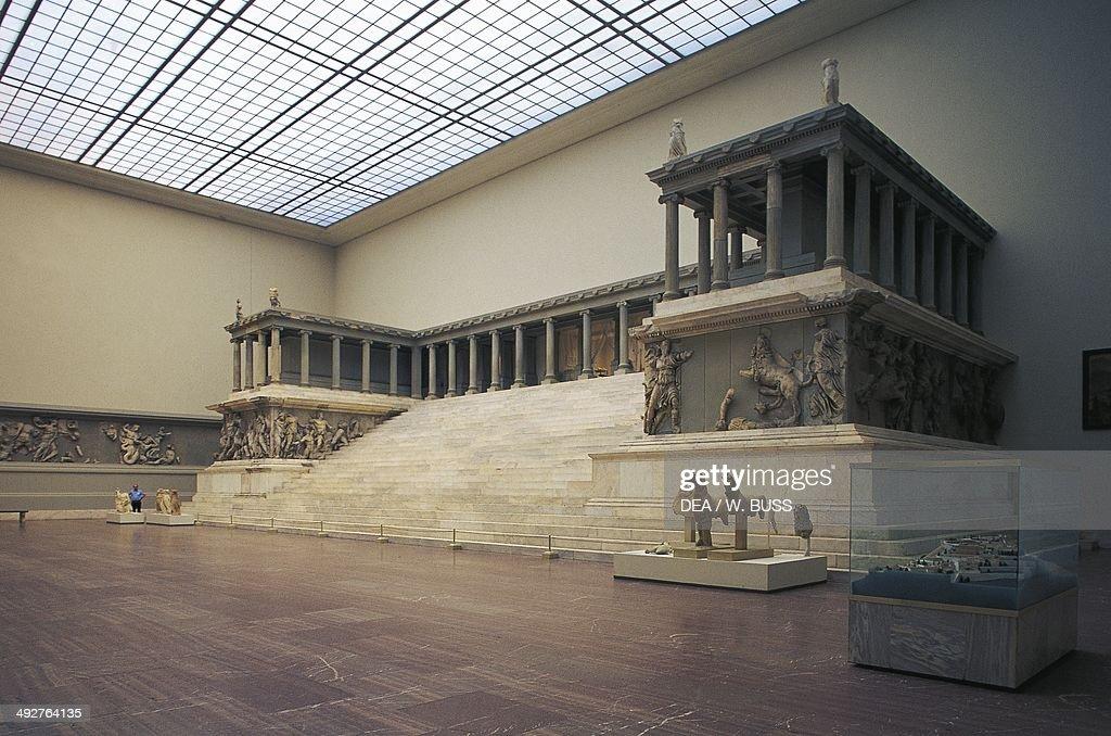 The Pergamon Altar 180160 BC marble Hellenistic Civilization 2nd century BC Berlin Pergamonmuseum