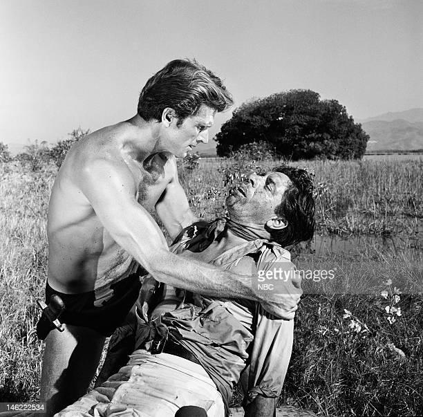 TARZAN 'The Perils of Charity Jones Part 1 2' Episodes 26 27 Pictured Ron Ely as Tarzan Edward Binns as Pedro