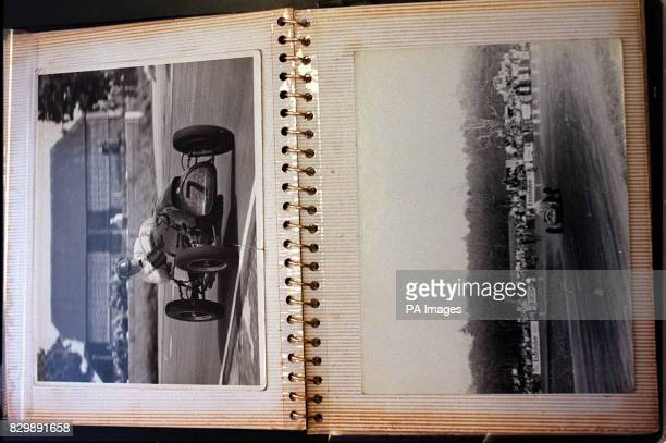 The personal photograph album of Britain's first world motor racing champion Mike Hawthorn belonging to racing driver Innes Ireland whose memorabilia...