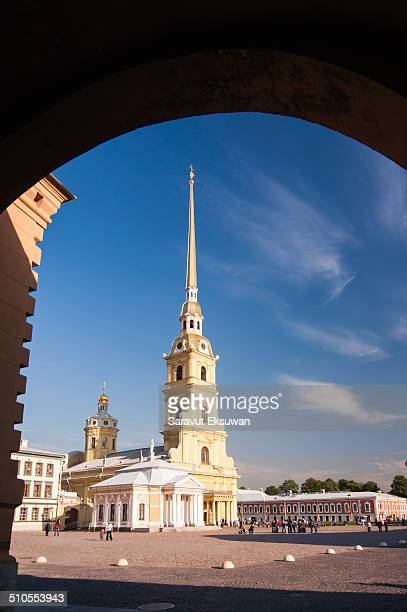 The Peter and Paul Fortress was founded by Peter the Great in 1703 Today it has been adapted as the central and most important part of the State...