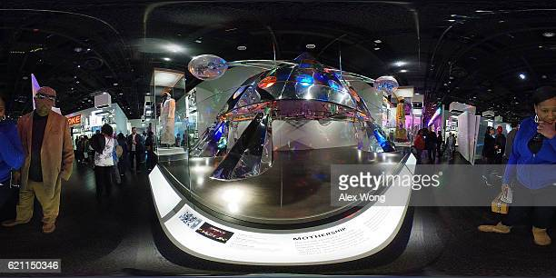 The PFunk Mothership an iconic stage props in the history of popular music is on display in the Musical Crossroads section of the National Museum of...