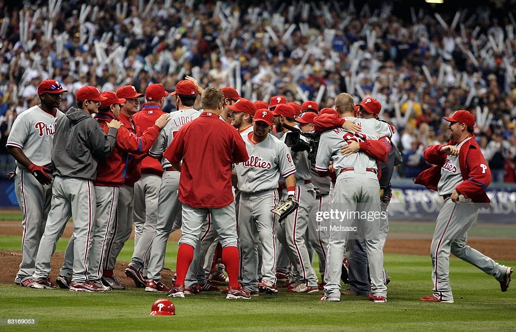 Image result for 2008 phillies win nlcs