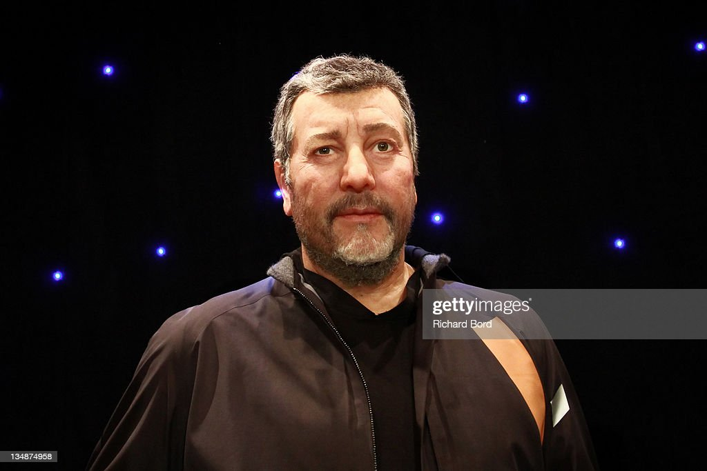 The Philippe Starck wax figure is seen at Musee Grevin on June 15, 2010 in Paris, France.