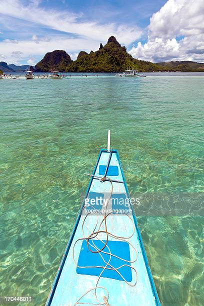 The Philippines, Palawan Province, El Nido, tropical island.
