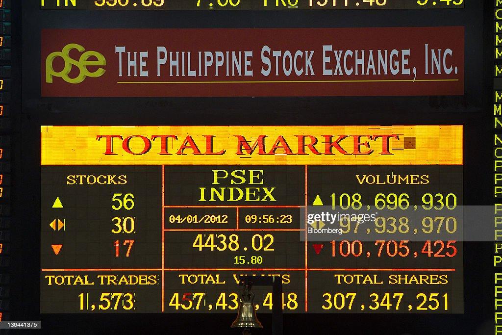 Philippine stock exchange trading system