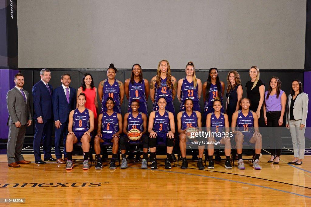 2017 WNBA Team Photos