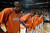 The Phoenix Suns observe a moment of silence in memory of those slain in a shooting at Virginia Tech as the Suns host the Los Angeles Clippers on...
