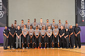 The Phoenix Suns pose for their 20142015 Team Photo on March 12 2015 at US Airways Center in Phoenix Arizona NOTE TO USER User expressly acknowledges...