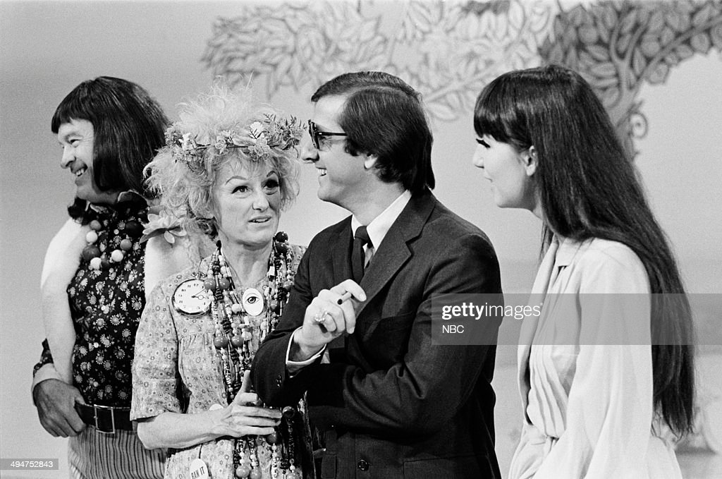 HALL -- 'The Phyllis Diller Happening' Episode 6 -- Pictured: (l-r) Bob Hope, Phyllis Diller, Sonny Bono, Cher --