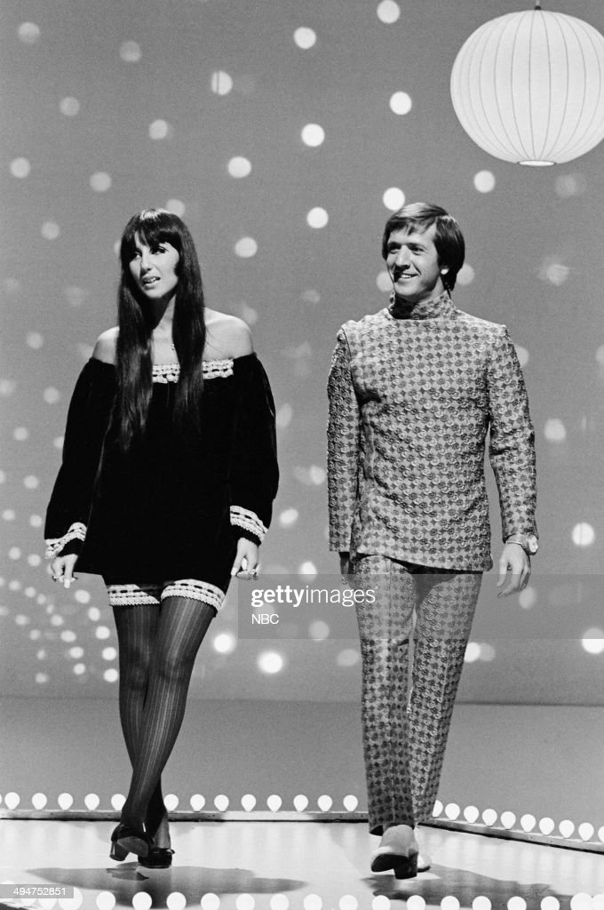 HALL -- 'The Phyllis Diller Happening' Episode 6 -- Pictured: (l-r) Cher and Sonny Bono --