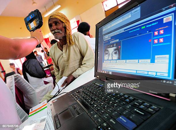The picture featuring Camp for Aadhar Card on April 12 2013 in New Delhi India