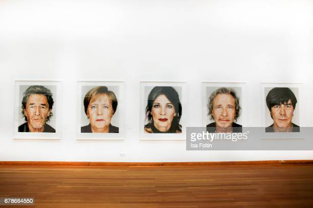 The pictures of photographer Martin Schoeller during the 'FotoKunstBoulevard' exhhibition opening at MartinGropiusBau on May 4 2017 in Berlin Germany