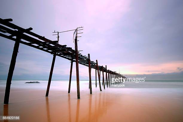 The pier of Khao Lak