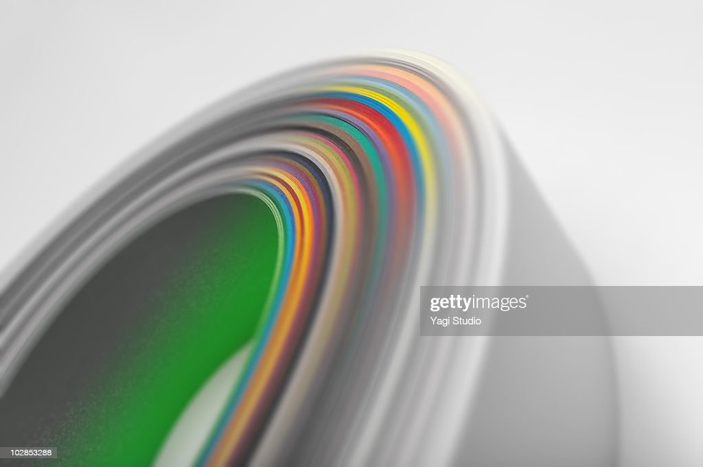 The pile of the paper : Stock Photo