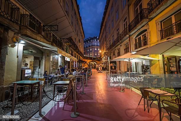 Rose Street, à Lisbonne, au Portugal