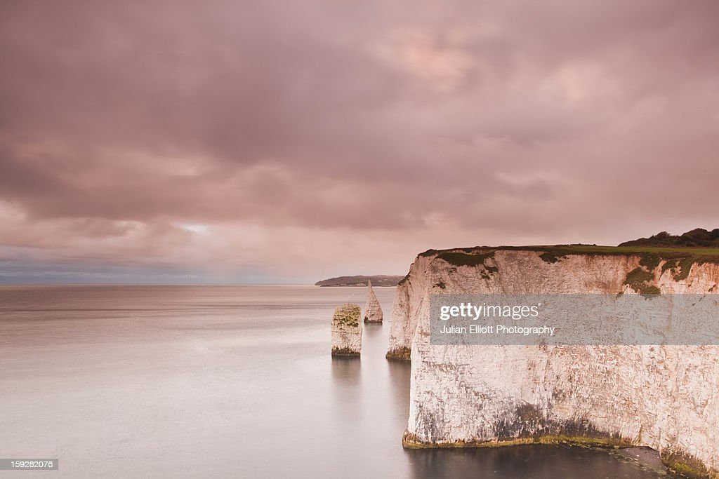 The Pinnacles near to Old Harry rocks.