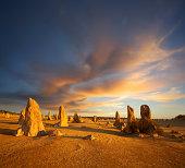 The Pinnacles Western Australia Outback