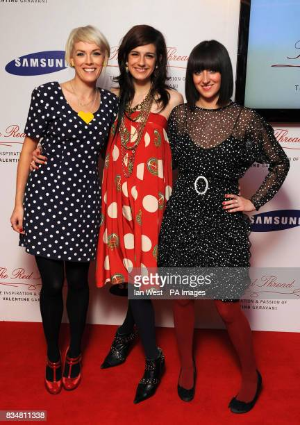 The Pippettes arrive at the Samsung Imagination Series Event The Red Thread The Inspiration and Passion of Valentino Garavani Premiere at The...