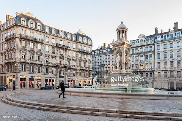 Lyon france stock photos and pictures getty images - Place des jacobins lyon ...