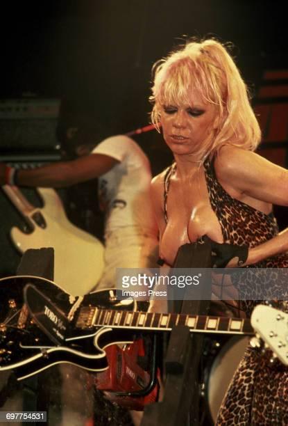 The Plasmatics in concert circa 1980 in New York City