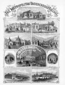 The plate is from the Illustrated London News In 1854 proposals to link Paddington with King's Cross and King's Cross with the City resulted in the...