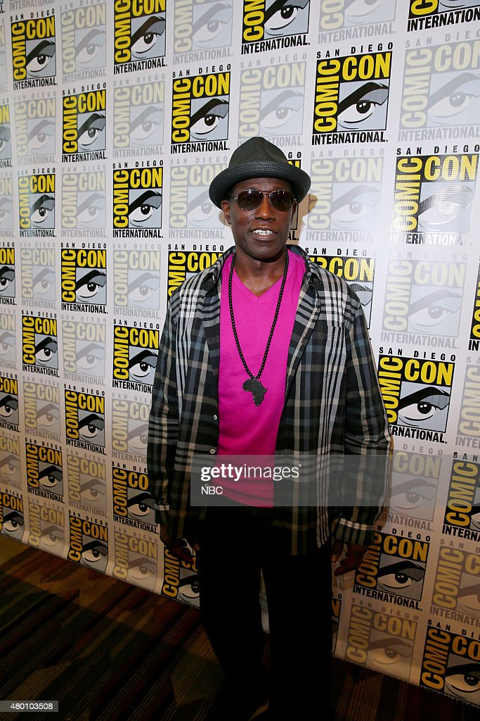 SAN DIEGO 2015 -- 'The Player' Panel & Red Carpet -- Pictured: Wesley Snipes, Thursday, July 9, 2015, from San Diego Convention Center, San Diego, Calif. --