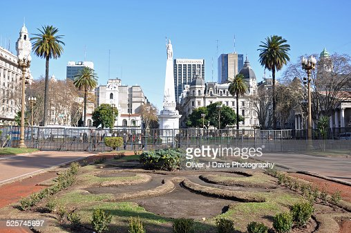 The Plaza de Mayo, Buenos Aires