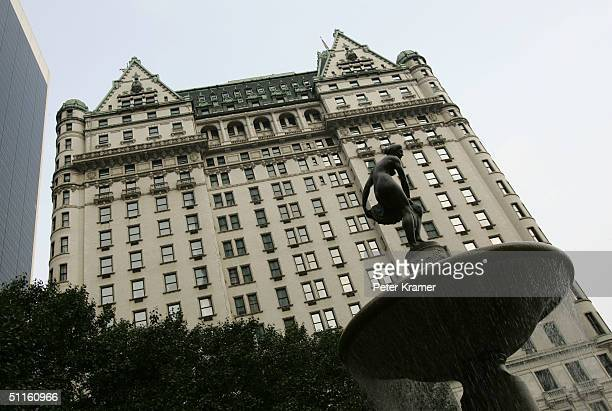 The Plaza Hotel is seen August 11 2004 in New York City