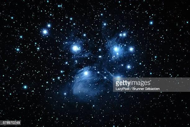 M 45, the pleiades