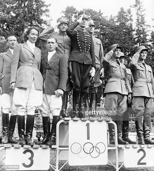 Equestrian Helsinki Olympic Games 1952 Mixed Team