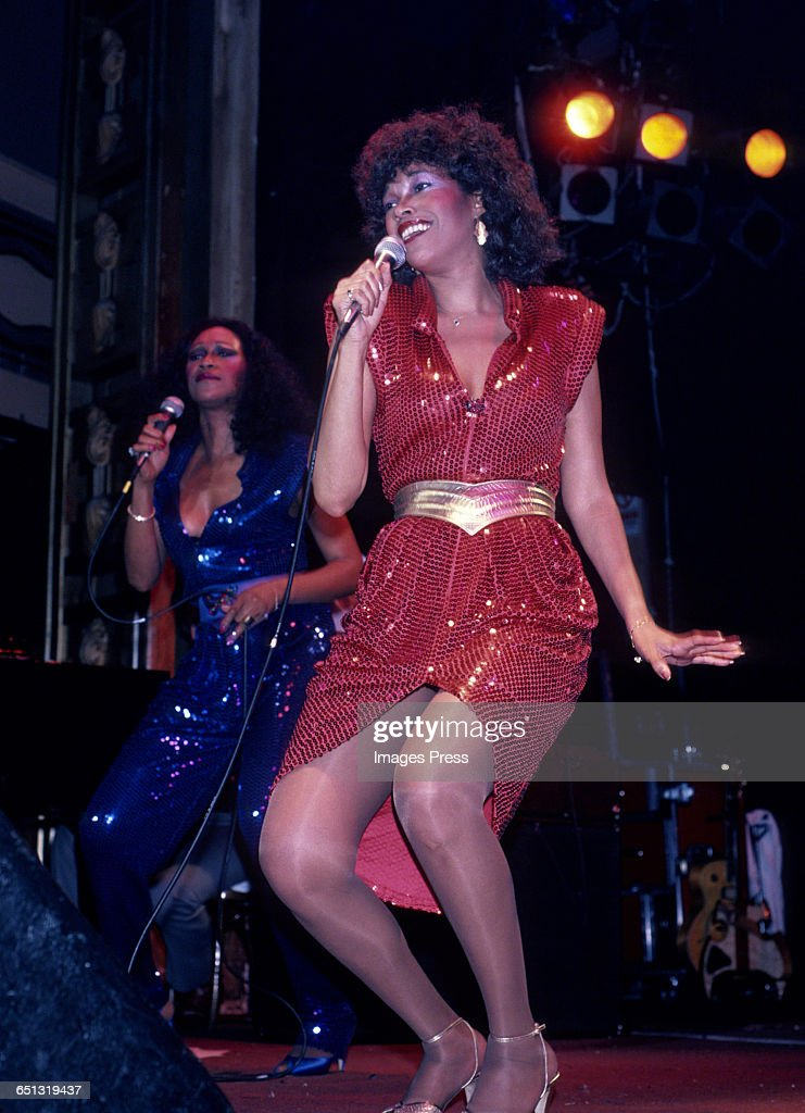 The Pointer Sisters in concert circa 1982 in New York City