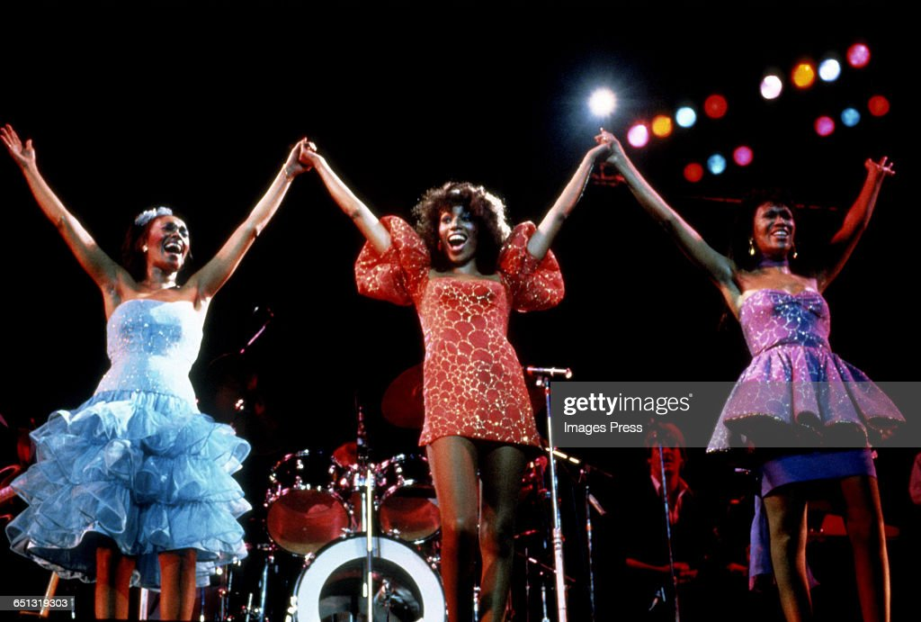 The Pointer Sisters in concert circa 1983 in New York City