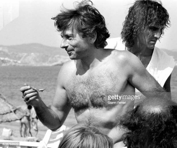 The Polish director of cinema Roman Polanski during a vacations Marbella Malaga Spain