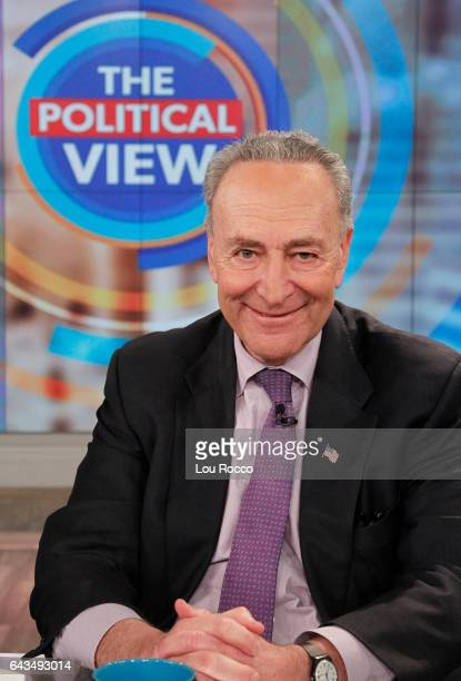 THE VIEW The Political View with Senator Minority Leader Charles Schumer today Tuesday February 21 2017 on ABC's 'The View' 'The View' airs...