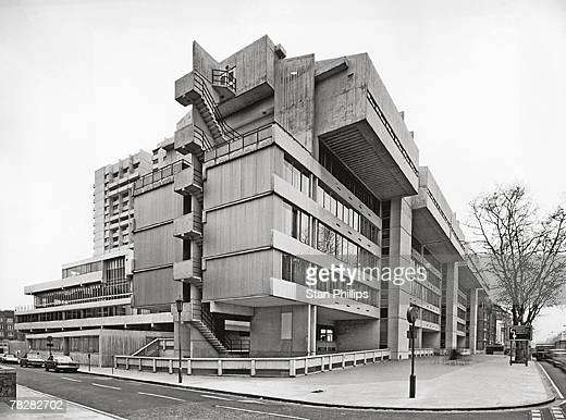 The Polytechnic of Central London situated on the corner of Marylebone Road and Luxborough Street 26th April 1971 It was later integrated into the...