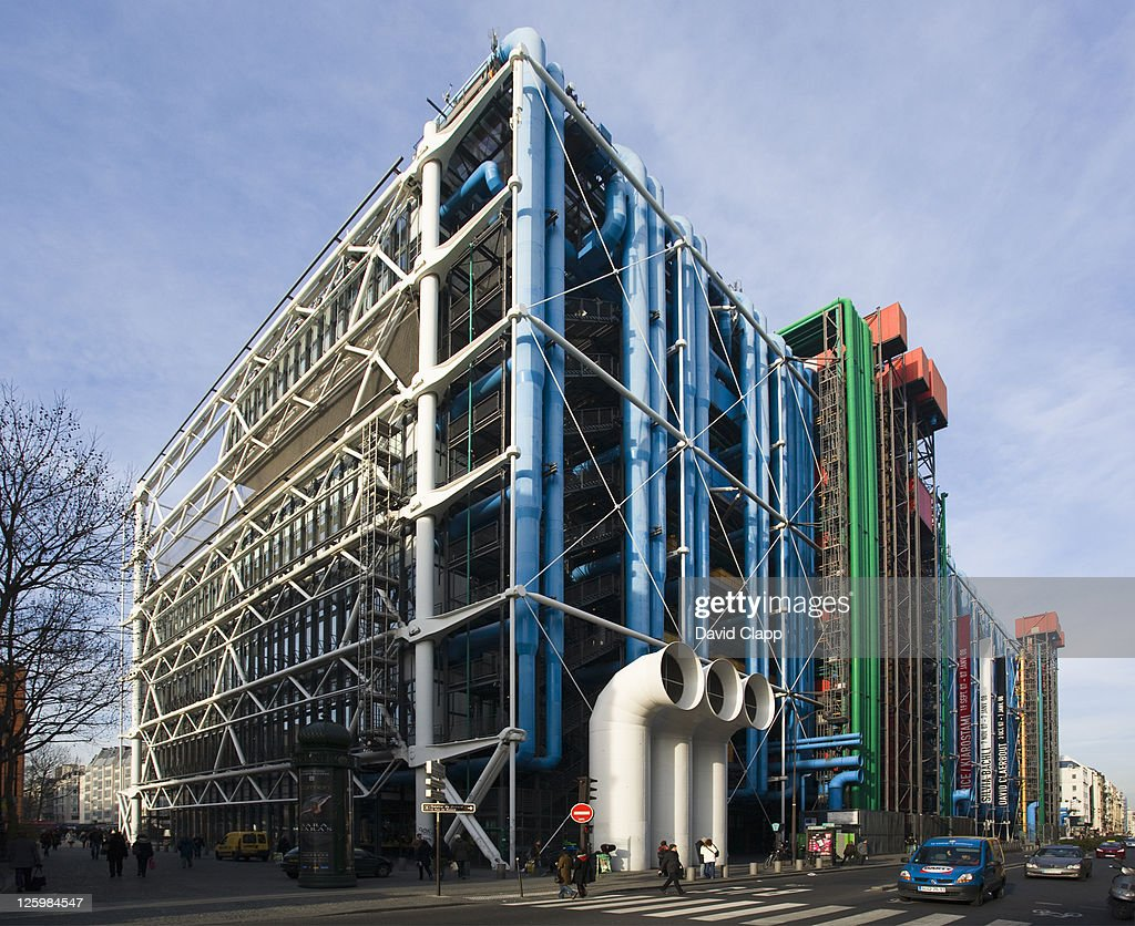 The Pompidou Centre, Paris, France