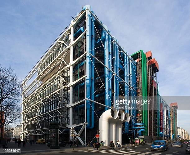 The Pompidou Centre, Paris, France