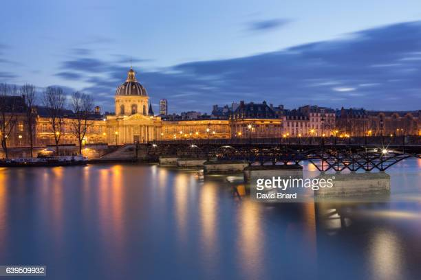 The Pont des Arts and Institut de France