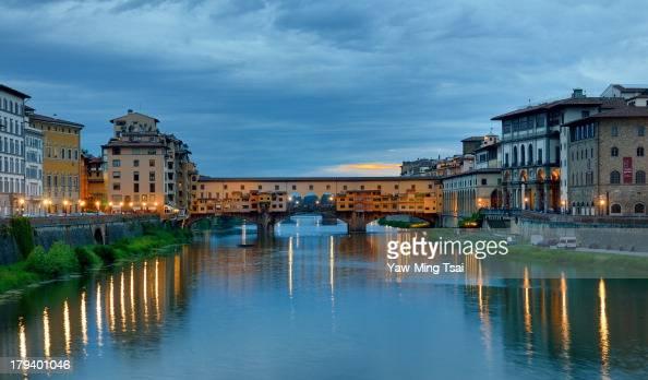 CONTENT] The Ponte Vecchio also known as Old Bridge is a Medieval stone closedspandrel segmental arch bridge over the Arno River in Florence Italy...