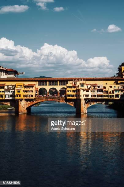 The Ponte Vecchio Bridge in Florence,Italy
