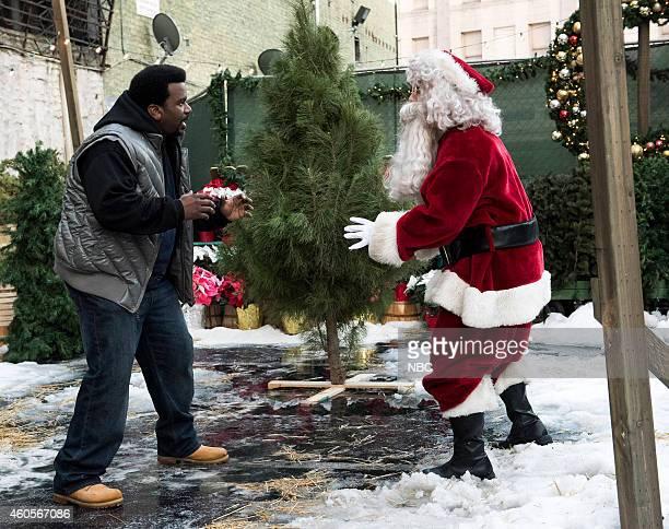 NINE 'The Pontiac Bandit Returns' Episode 210 Pictured Craig Robinson as Doug Judy Andy Samberg as Jake Peralta