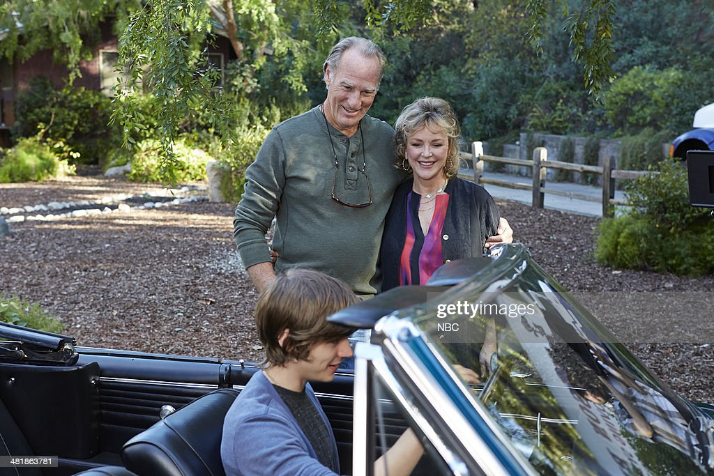 PARENTHOOD -- 'The Pontiac' Episode 522 -- Pictured: (l-r) <a gi-track='captionPersonalityLinkClicked' href=/galleries/search?phrase=Craig+T.+Nelson&family=editorial&specificpeople=892168 ng-click='$event.stopPropagation()'>Craig T. Nelson</a> as Zeek Braverman, Bonnie Bedelia as Camille Braverman, Miles Heizer as Drew Holt --